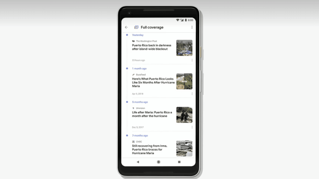 Google News Full Coverage
