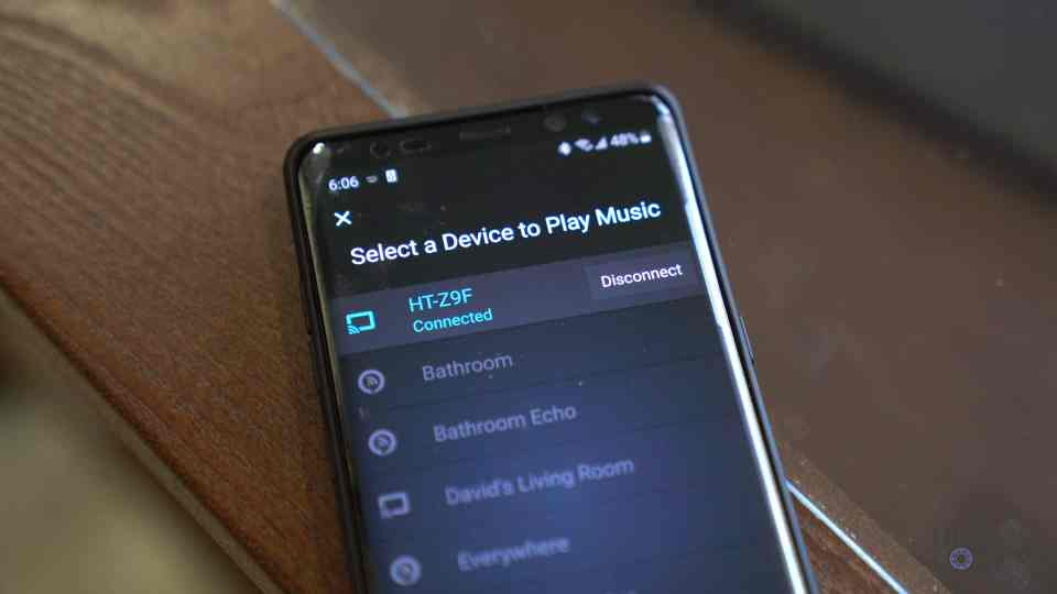 Streaming Music from Phone