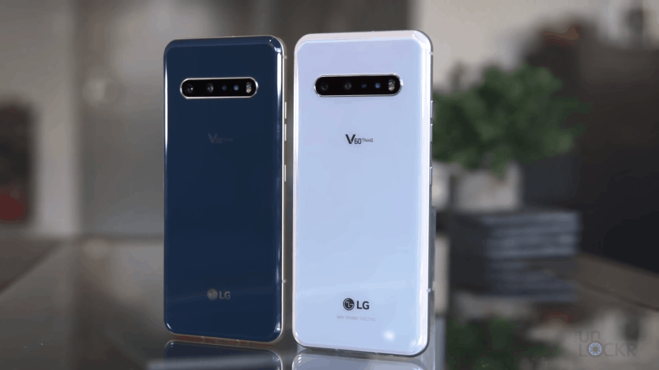LG V60 ThinQ Color Scheme