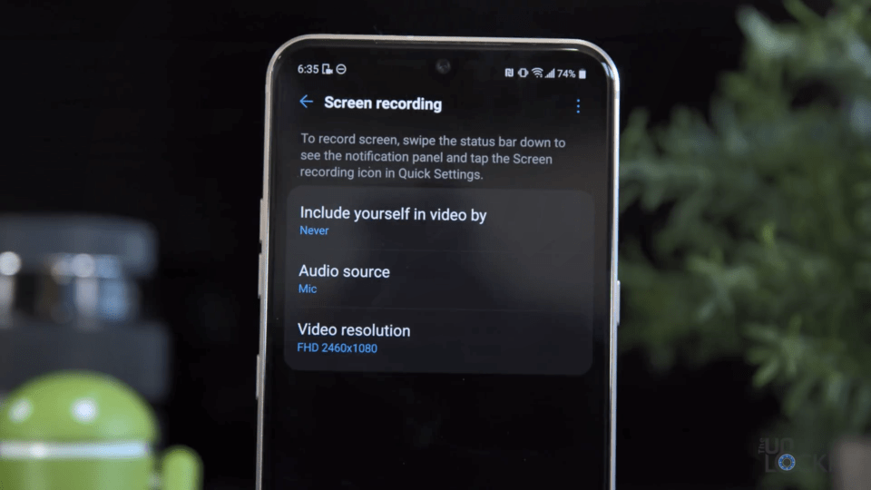 Screen Recording Extension