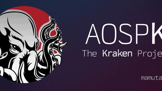 AOSPK- The Kraken Project
