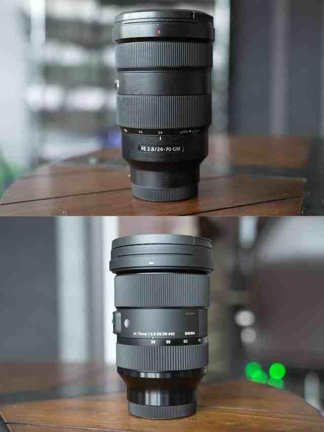 Sony 24-70mm f2.8 vs Sigma 24-70mm f2.8