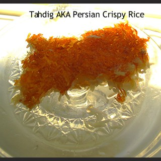 Persian Crispy Rice – Tahdig