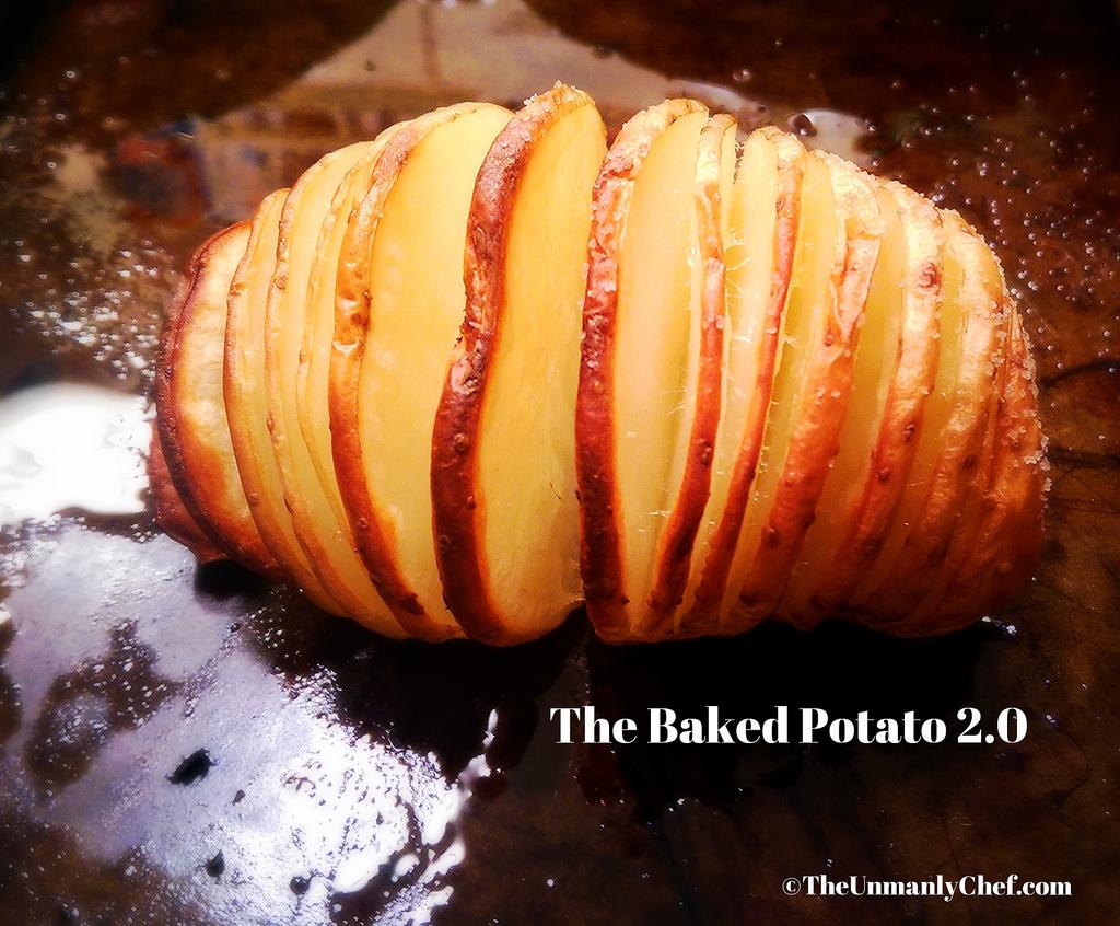 Sliced Baked Potato
