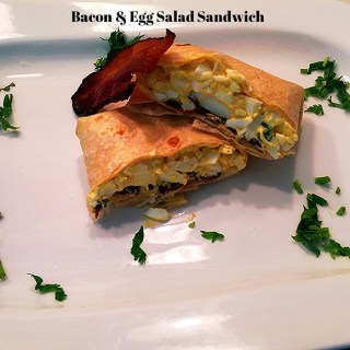 Bacon & Egg Salad Sandwich