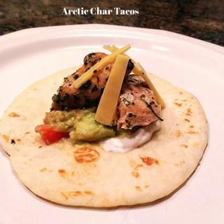 Arctic Char Fish Tacos