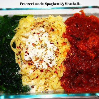 Freezer Lunch: Spaghetti & Meatballs