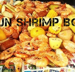 The Manly Chef Returns! Cajun Shrimp Boil