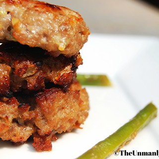 5 Days 5 Lunches: Apple Cheddar Pork Sausage Patties