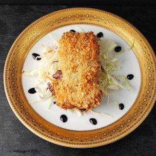 Panko Crusted No Fry Chicken Thigh