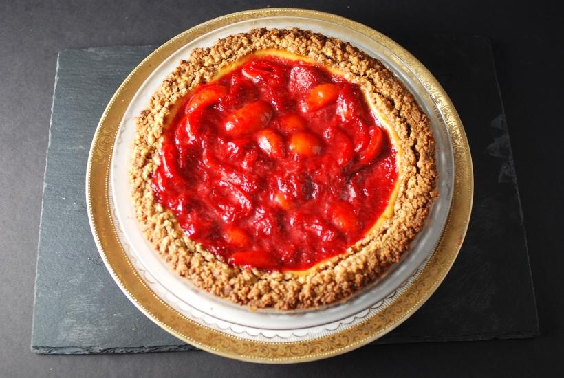 Strawberry Kumquat Tart