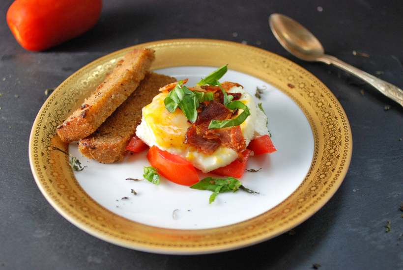 Caprese Salad Breakfast