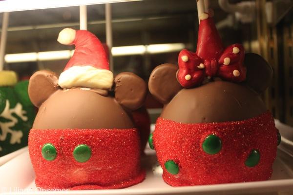 Disneyland Candy Apples Christmas 2021
