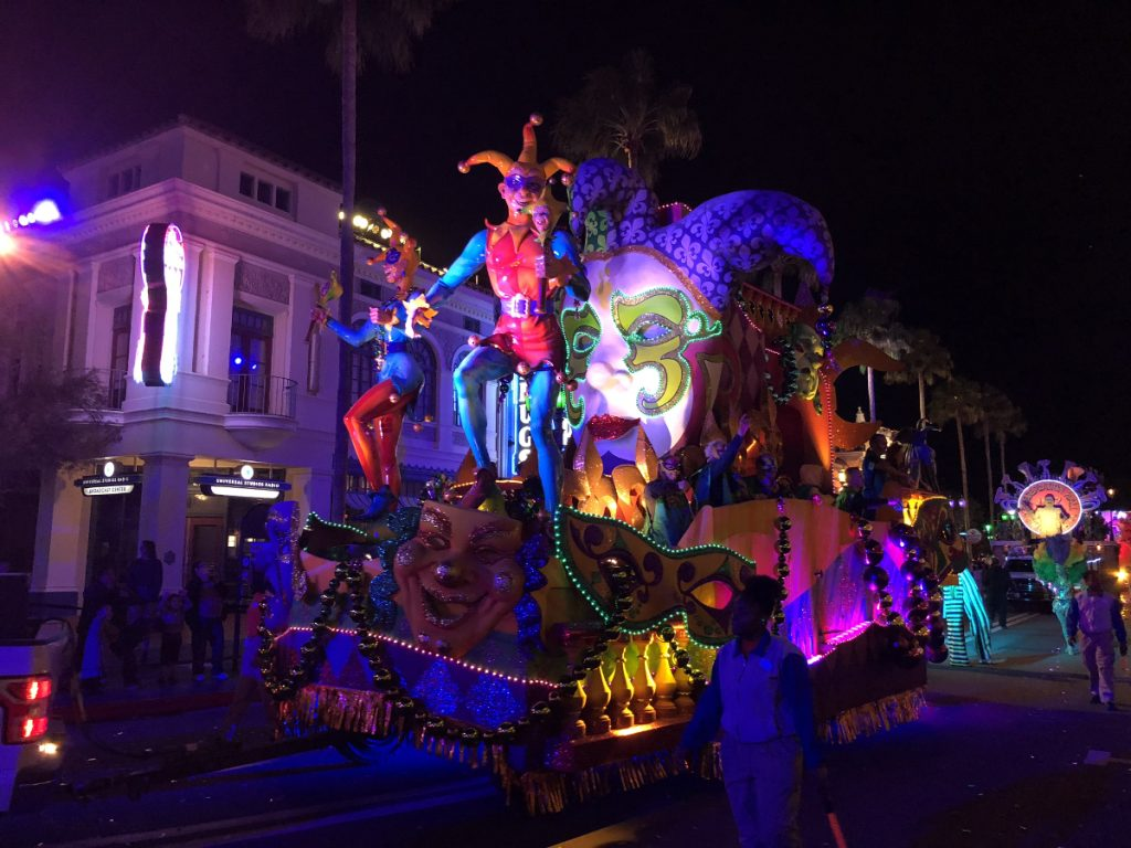 Universal Orlando Mardi Gras Florida Resident Discounted Tickets