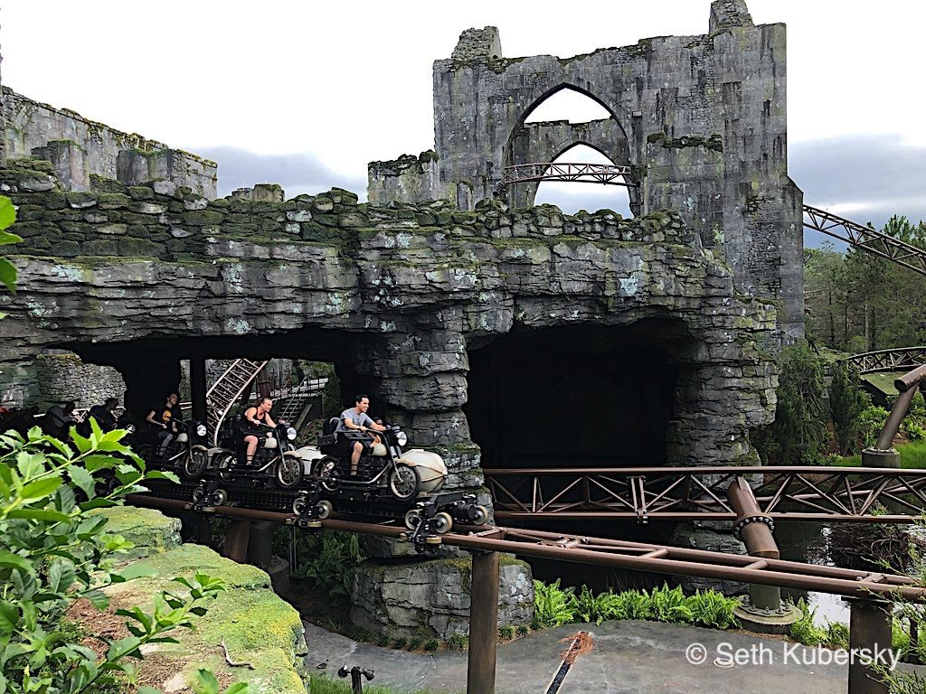 Hagrid's Magical Creatures Motorbike Adventure