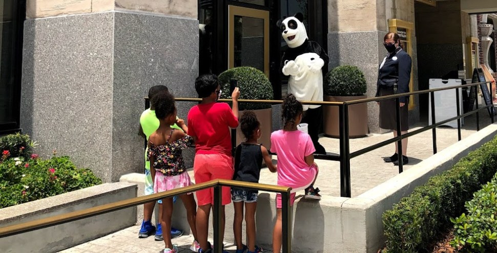 Socially Distanced Universal Orlando Kids Hashtag Panda featured