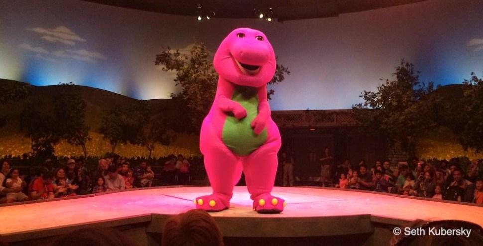 Barney Banner