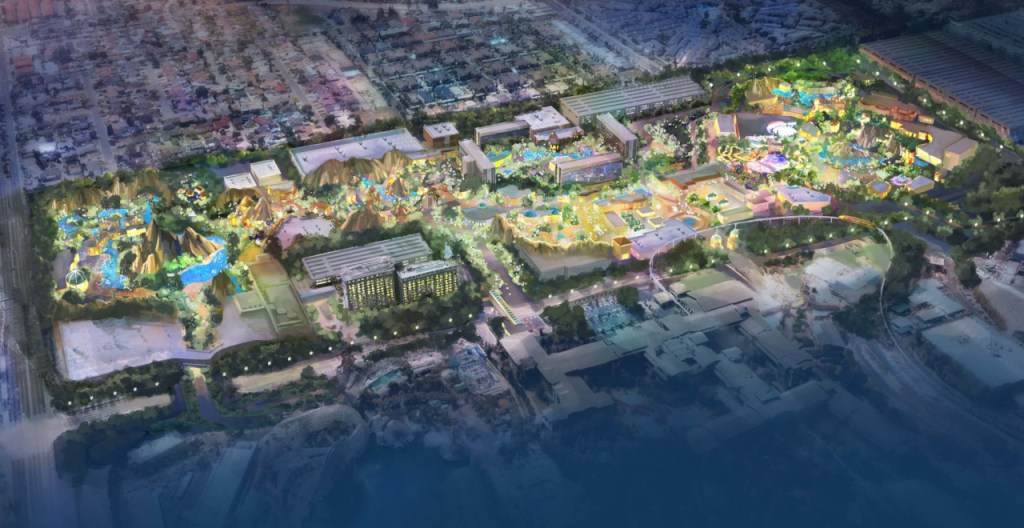 DisneylandForward theme park expansion concept art