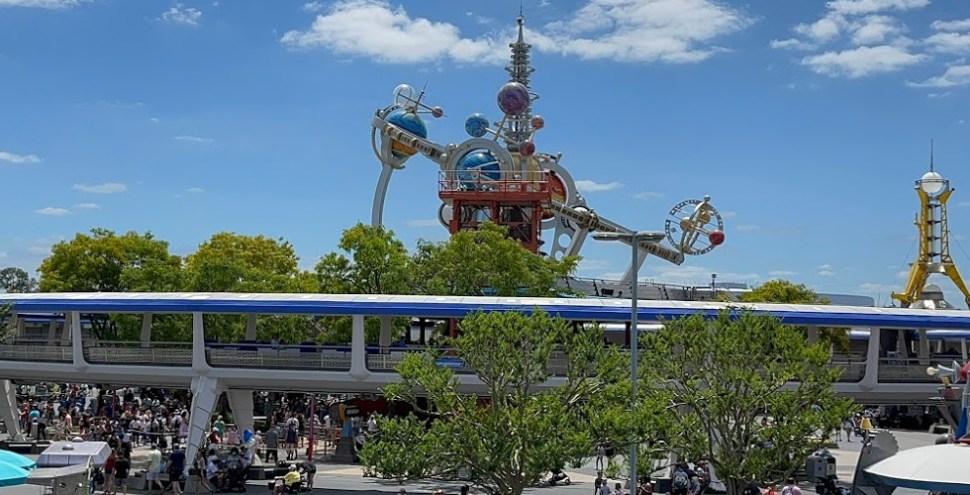 WDW Magic Kingdom Tomorrowland Transit Authority PeopleMover reopened