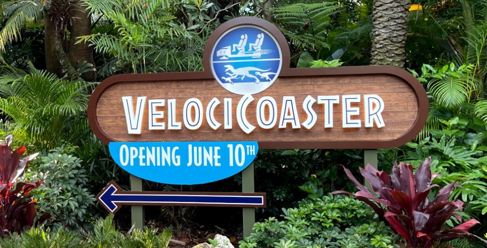 Jurassic World VelociCoaster featured