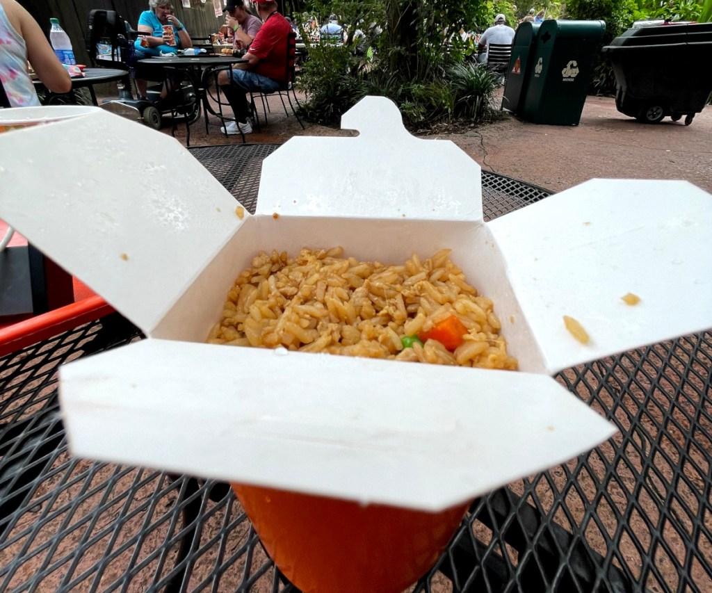 Chicken Fried Rice from Yak & Yeti at Disney's Animal Kingdom (Best Disney Snacks)