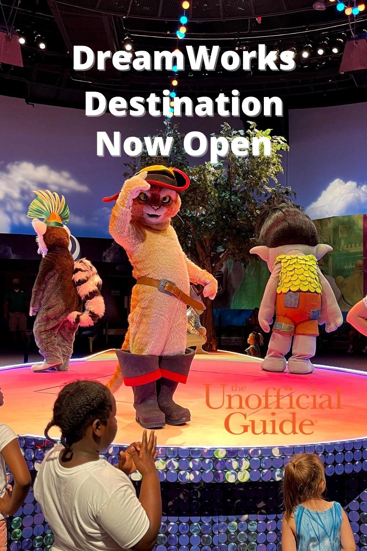 DreamWorks Destination Dance Party Now Open at Universal Orlando