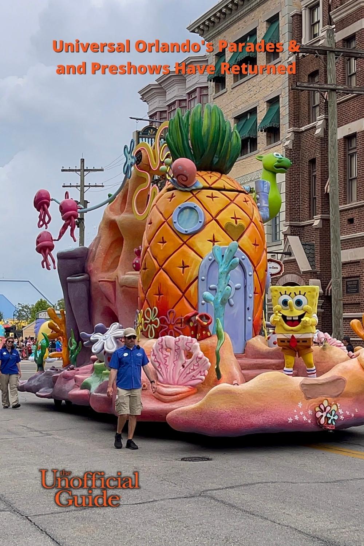 Universal Orlando\'s Parade and Preshow Have Returned