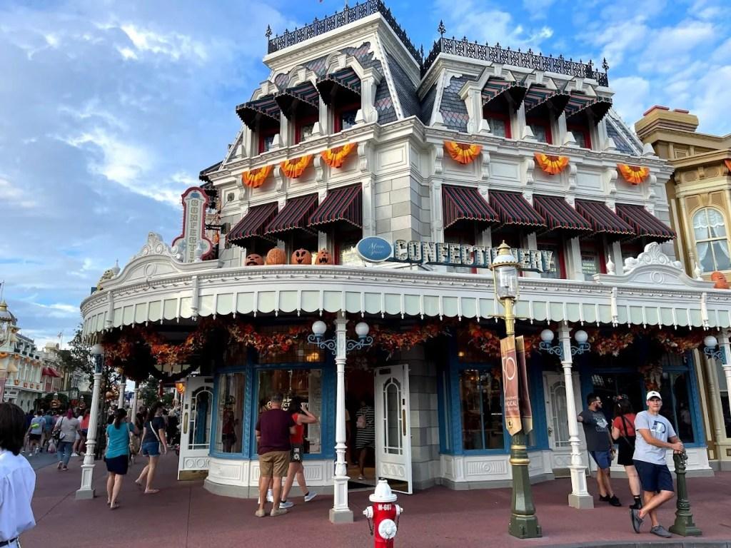 Main Street Confectionery at Walt Disney World Magic Kingdom