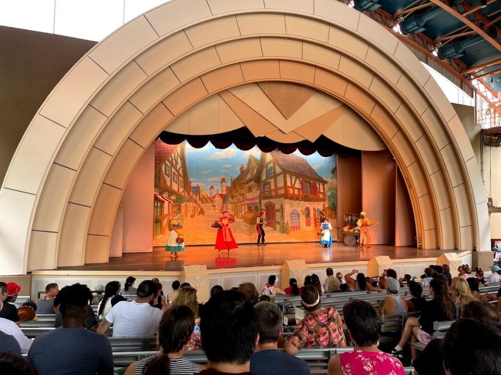 Beauty and the Beast Live entertainment Walt Disney World