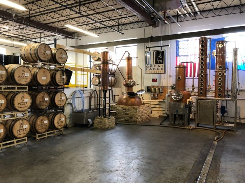 Great Lakes Distillery, Distilling Kettles