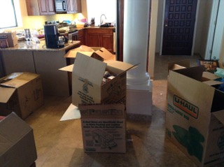 UNpacking a Kitchen: Before