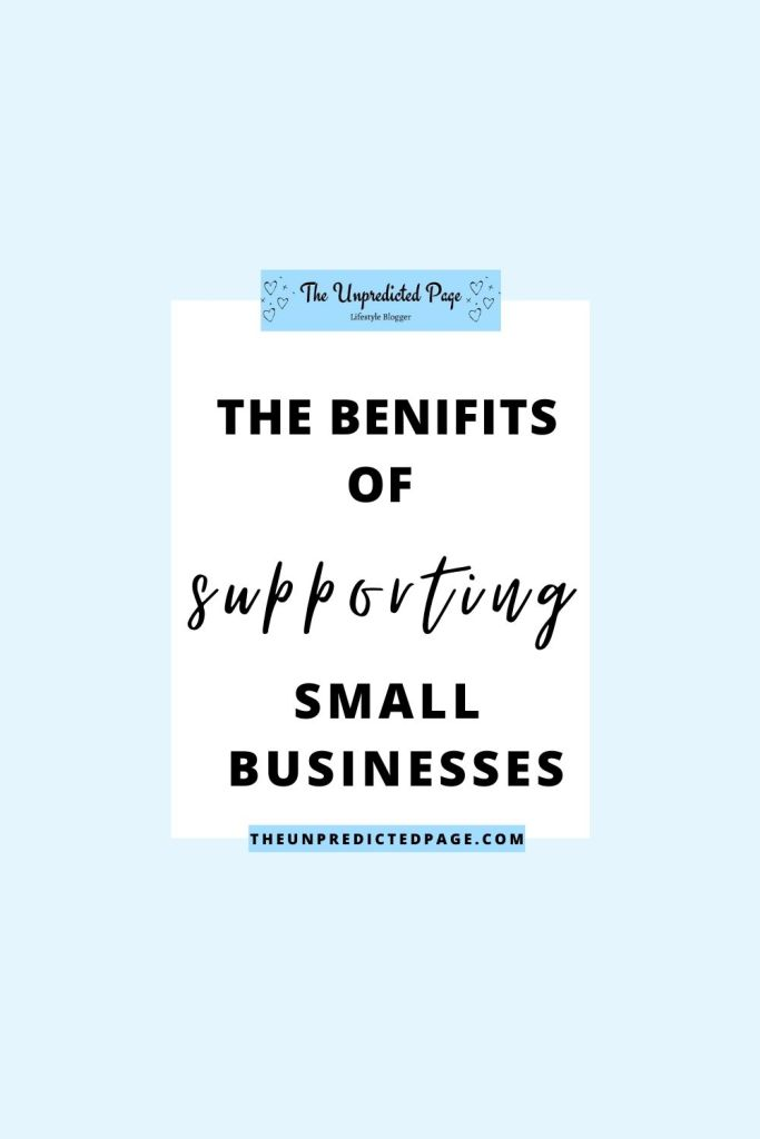 Are you wanting to support small businesses? Check out this post about all the different ways you can help out!