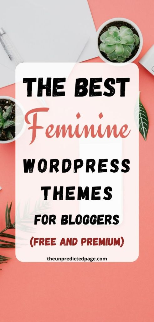 how to choose the best pretty blog WordPress theme for your blog