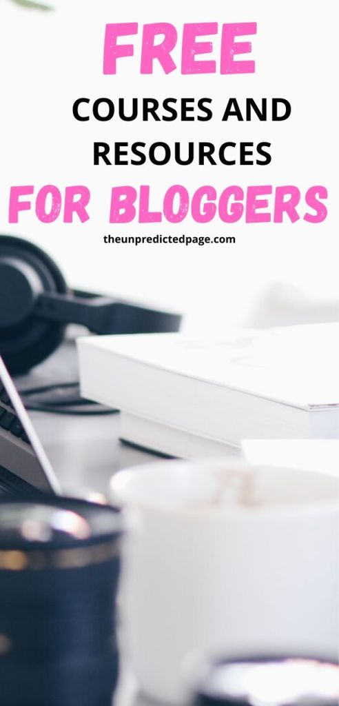 Take a look at the top 5 blogging courses for beginners I have found that improved my traffic. These blog courses are free!