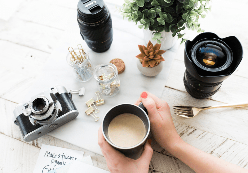 how to take blog photos