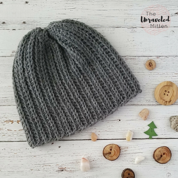 The Superior Beanie Free Knit Look Crochet Pattern The Unraveled