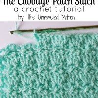 Cabbage Patch Stitch Crochet Tutorial