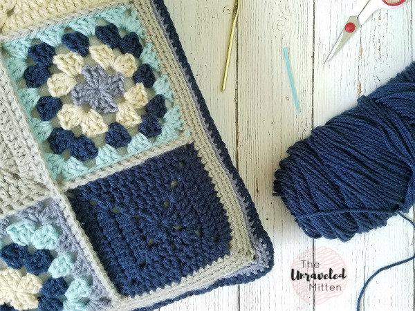 Lake Breeze Pillow | Part 2 | Free Crochet Pattern | The Unraveled Mitten
