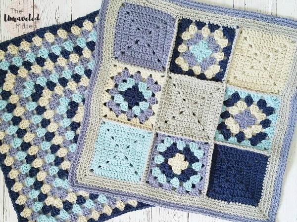 Lake Breeze Pillow | Part 2 | Free Crochet Pattern | The Unraveled Mitten