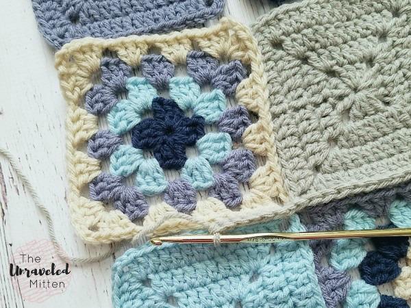 Lake Breeze Pillow | Single Crochet Join | Part 2 | Free Crochet Pattern | The Unraveled Mitten