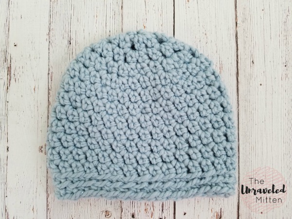 The Maggie Beanie Free Easy Crochet Pattern The Unraveled Mitten