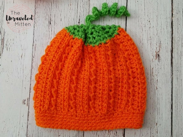 Crochet Pumpkin Hat Pattern  ca7dc2e624f