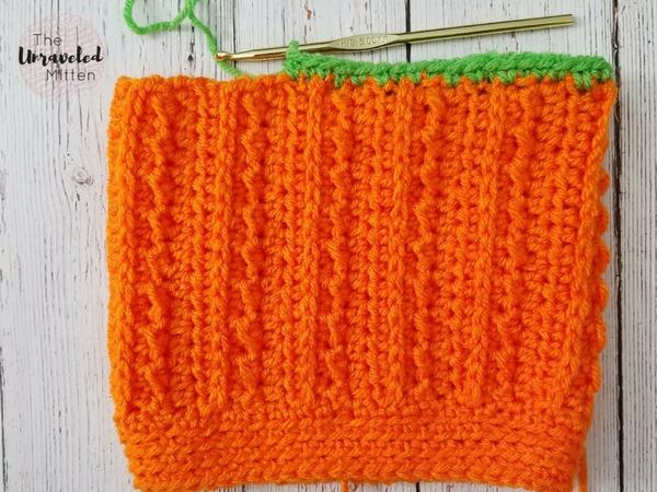 Pumpkin Hat | Free Crochet Pattern | The Unraveled Mitten