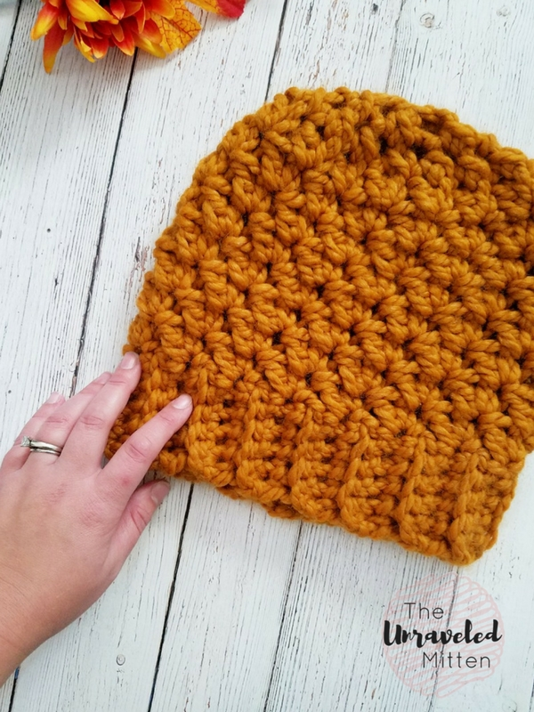 Wildwood Chunky Beanie | Free Crochet Pattern | The Unraveled Mitten