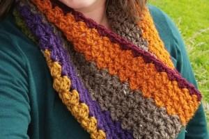 Wildwood Cowl | Free Crochet Pattern | The Unraveled Mitten