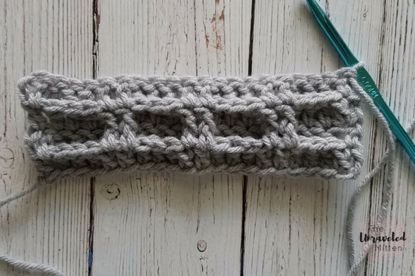 Double Waffle Crochet Stitch Tutorial | The Unraveled Mitten