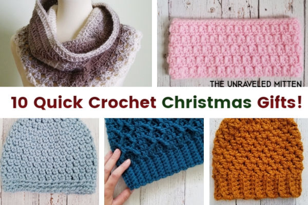 10 Quick Crochet Gifts to Make For Christmas This Year! | The ...