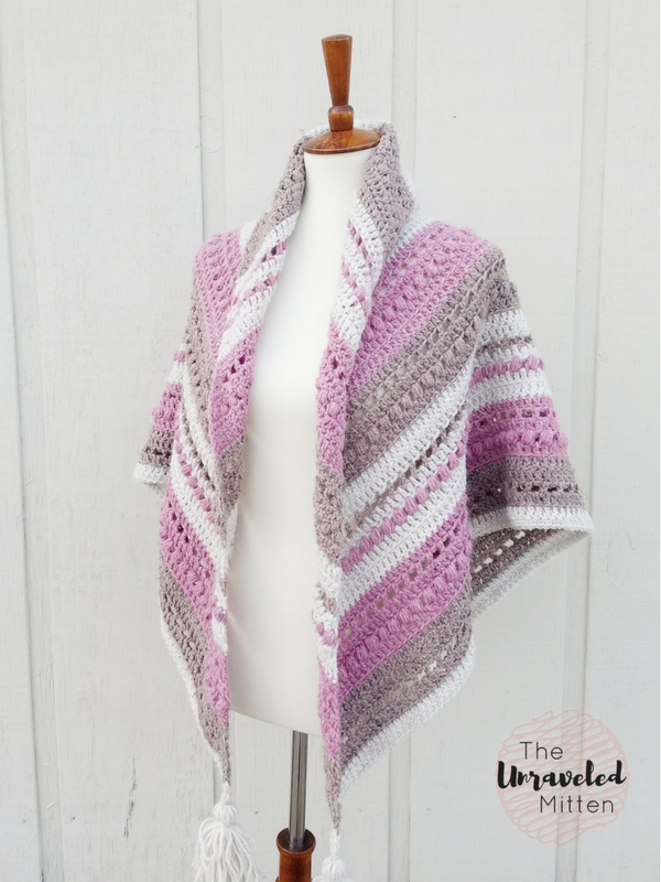 What You Love Shawl Free Crochet Pattern The Unraveled Mitten