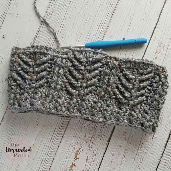 Mackinac Beanie | Free Crochet Pattern | The Unraveled MItten