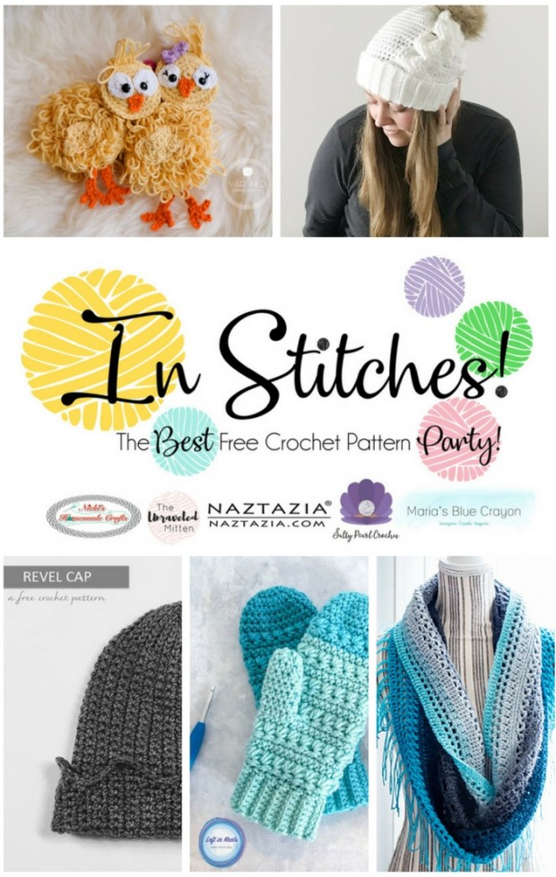 In Stitches: The Best Free Crochet Pattern Party   The Unraveled Mitten   Crochet Pattern Round up
